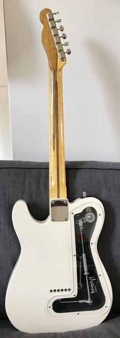 The rear of the John Johnston B-bender Telecaster he made for me in early 2018. Call John in the USA (434) 607-0008 and order one yourself!