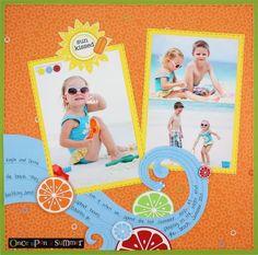 Once Upon a Summer (Traveler Cricut Cartridge)