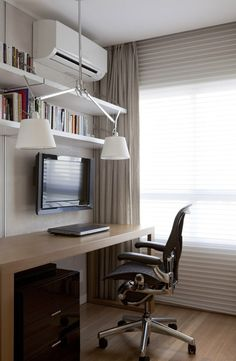 Apartamento Vila Mariana / Paula Magnani Arquitetura @paulamagnani #homeoffice