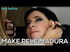 Maquiagem Passo a Passo Pele Madura e Palpebra Caida - Tutorial - YouTube