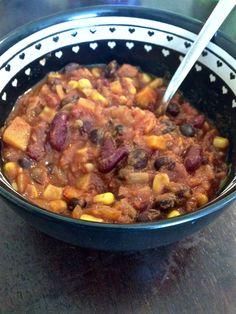 The Rare Knife: Sweet Potato  Chili