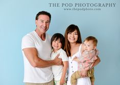 Summer Family Studio Photography