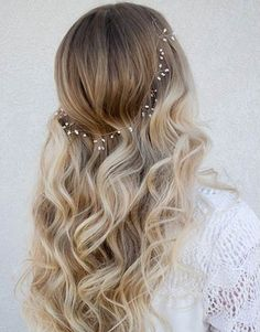 Soft Curly Long Wedding Hairstyles 2015 – 2016