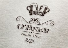 O' Beer Irish Pub by Greab Bogdan, via Behance