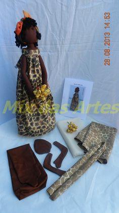 Esta Africana também está a disposição na loja virtual, Kit's e projetos na venda na loja virtual:http://mixdasartes.webstorelw.com.br/...By Mix das Artes