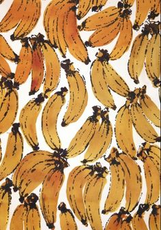 More banana print Food Patterns, Textures Patterns, Print Patterns, Fruit Pattern, Pattern Art, Banana Print, Geometry Pattern, Beautiful Fruits, Action Painting
