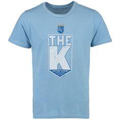 bbf7d2bbf19a Kansas City Royals Majestic Threads The K Crown Premium Tri-Blend T-Shirt -