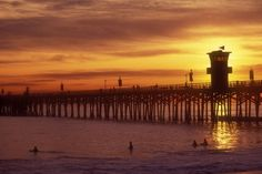 Where we went when we found our Katin was on his way!! Seal Beach Pier!