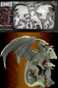 Reaper 113526: Reaper Bones 3 Ma Al Drakar The Dragon Tyrant, New Retail Box,*In Hand* -> BUY IT NOW ONLY: $200 on eBay!