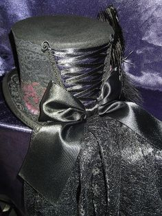 Gothic-Hats.co.uk - Gothic Top Hats Wool & Lined