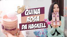 Resenha linha Quina Rosa Haskell Anti frizz e dá muito Brilho! - Resenha linha…