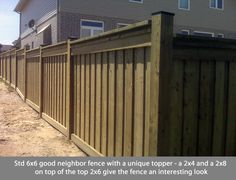 Good Neighbor Fence Fences Pinterest Fence And Search