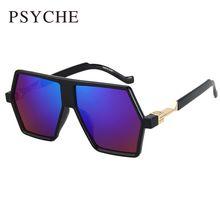 Punky de la personalidad Gafas de Sol de Moda de Gran Tamaño Gafas de Protección Espejo Recubrimiento Dita gafas de Sol Para Hombre Fresco Nueva Marca Gafas X757(China (Mainland))