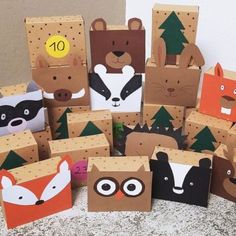 Easy Christmas Crafts, Christmas Gift Wrapping, Simple Christmas, Christmas Time, Christmas Gifts, Christmas Decorations, Advent Calenders, Diy Advent Calendar, Creative Gift Wrapping