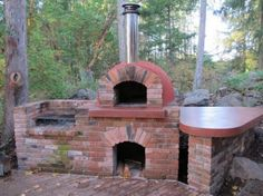 Pizza oven and BBQ grill
