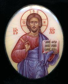 pantokrator by evgeny baranov. http://www.orthodoxartsjournal.org/