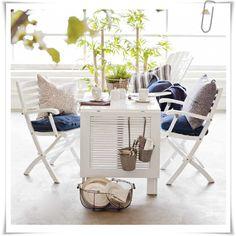 DIY Upcycle deck furniture