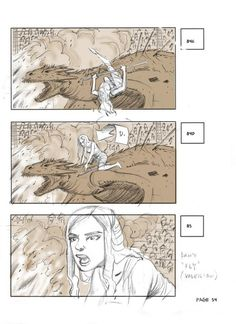 Game of Thrones Season 5 : From Storyboard to Final Scene