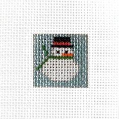 Painted Mini Canvas - Snowman (Pre-Order)