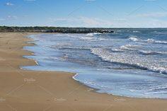 Sea Beach & Waves by QueenDesigns on @creativemarket