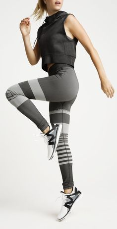 These streamlined, body-flattering leggings are an ideal combination of performance and comfort. - 63% nylon, 30% polyester, 7% elastane - Machine wash cold