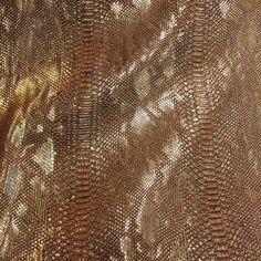 Meterware Kunstleder Comodo gold braun Reptilienoptik von werthersstoffe auf Etsy