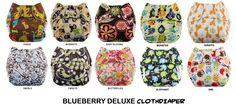 Blueberry Clothdiaper Deluxe IDR 323.000/pcs  Istimewa bisa dipakai untuk tidur malam. 8-10 jam tetap kering :)  www.facebook.com/babyceloshop.celo