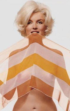 Marilyn photographed by Bert Stern, 1962.