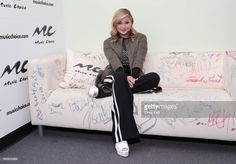 Singer/ actress Olivia Holt visits Music Choice on April 18, 2017 in New York City.