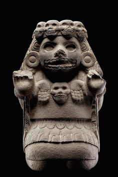 Mictlancihuatl is the queen of Mictlan, the ninth and last level of the underworld.
