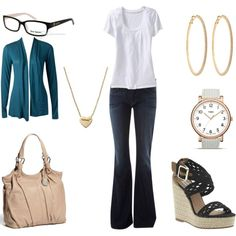 """""""Spring Work Outfit"""" by annekehildebrand on Polyvore"""