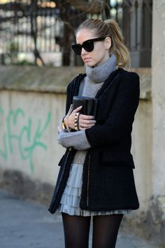 Winter fashion - I miss winter! Want to be able to wear the clothes I bought in Europe!