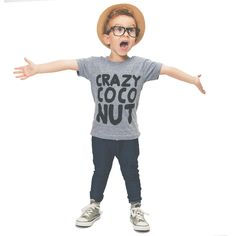 Crazy Coco Nut Tee – Oopsy Daze | Lenka and the Fawn