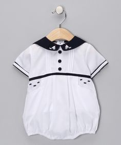Oh-so-sweet Sailboat Bubble for baby boys