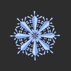 Snowflake Clip Art - Snowflake Illustration - Winter Clip Art Watercolor Texture, Winter Theme, Snowflakes, Clip Art, Illustration, Instagram Posts, Illustrations, Character Illustration, Pictures