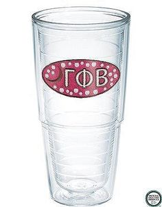 Gamma Phi Beta Sorority Tervis Tumbler: $24.00. Great Greek Gift. Comes with a lid. Keeps drinks hot or cold. 24 oz.