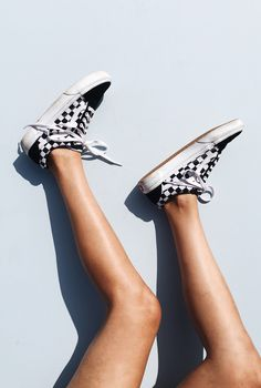 Checked out. Customize your Vans with a mix of prints and solids, now at vans.com/customs.  Photography: Celina Kenyon
