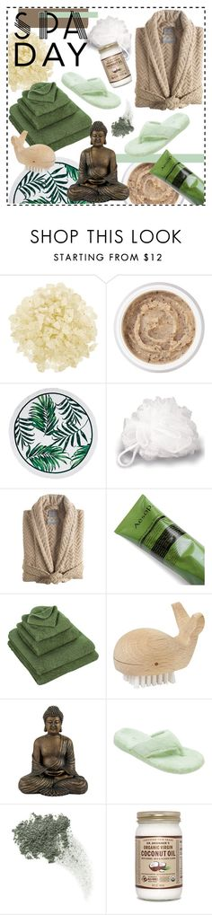 """Spa Day"" by amanda-alyssa-montalvo ❤ liked on Polyvore featuring beauty, African Botanics, Aromatherapy Associates, Kassatex, Aesop, Abyss & Habidecor, CB2, Acorn, Bare Escentuals and spaday"