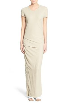 James Perse Short Sleeve Maxi Dress available at #Nordstrom
