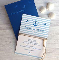 Großartig Für Alle Diejenigen Die Es Genauso Ans Meer Zieht Wie Uns   Hier Unser  Hochzeitseinladung Ganz