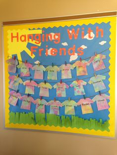 Spring bulletin board idea for a classroom