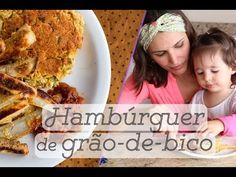 HAMBÚRGUER DE GRÃO DE BICO com batatas assadas e ketchup caseiro: comida rápida saudável - YouTube
