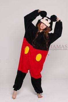 Disney Mickey Mouse Kigurumi Adult Animal Onesie