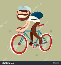 Stylish Character On Bike Bicycle Rider Stock Vector (Royalty Free) 257751550 Free Vector Graphics, Free Vector Art, Free Vector Images, Bike Illustration, Cool Bikes, Royalty Free Stock Photos, Bicycle, Clip Art, Stylish