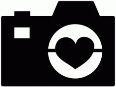 Silhouette Online Store: heart camera - all Silhouette cut files 50% off through March 27th!