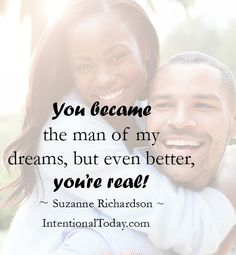 """My husband is an """"over and above"""" blessing!  """"Now to him who is able to do far more abundantly than all that we ask or think..."""" Ephesians 3:20"""