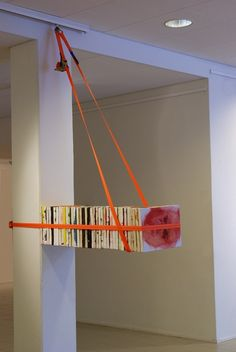 Tapio Haapala. installation with self portrait and other paintings. Imatra Art Museum 2007.