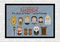 The Chronicles of Narnia - The Lion , the Witch and the Wardrobe cross stitch pattern by Cloudsfactory