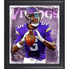 "Teddy Bridgewater Minnesota Vikings Fanatics Authentic Framed 15"" x 17"" Playmaker Collage"