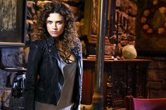 Constantine - Season 1 - Angelica Celaya as Zed I want this jacket!!